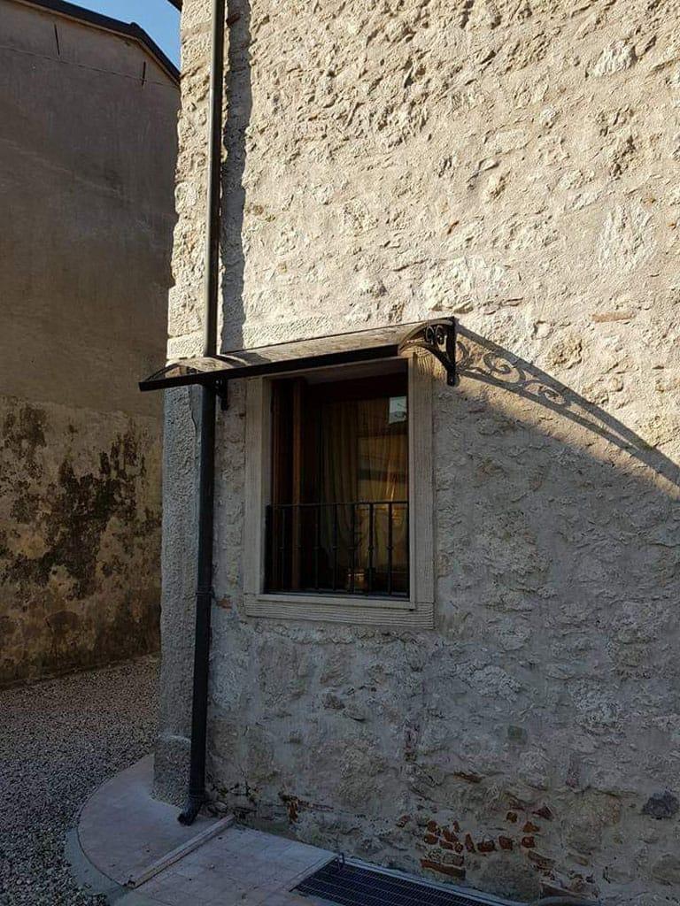 Pensiline In Ferro Battuto A Vicenza Montecchio Vicentino